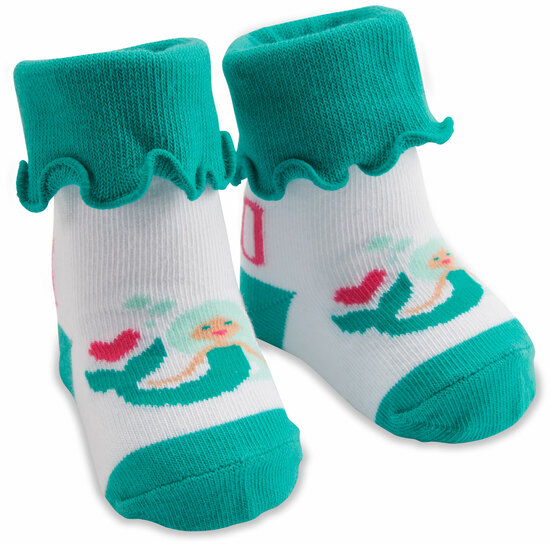 Mermaid by Izzy & Owie - Mermaid - 0-12 Months Socks