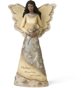 "EBN Mother by Elements - 9"" EBN Angel Holding Flower"