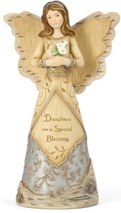 "Blessings for a Daughter by Elements - 9"" Daughter Angel"