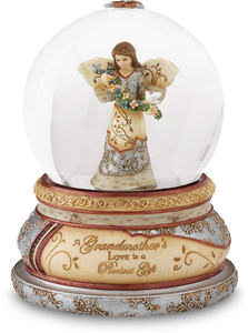 A Grandmothers Love by Elements - 100mm Musical Water Globe