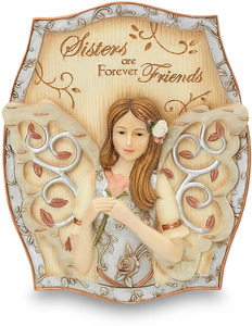 "Sister by Elements - 4""x3.5"" Self Standing Plaque"