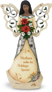 "EBN Mother by Holiday Elements - 9"" EBN Angel w/Bouquet"