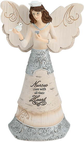 Nurse by Elements - <em>Nurse</em> - Angel Figurine, 6 in -