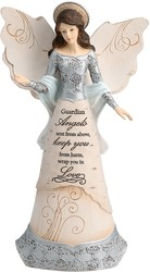 "Guardian Angel by Elements - 9"" Angel with Halo"