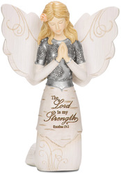 "Prayer by Elements - 5.5"" Kneeling & Praying Angel"