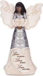 "EBN Love by Elements - 6"" EBN Angel Holding Heart"