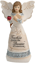 "Teacher by Elements - 4.5"" Angel Ornament"
