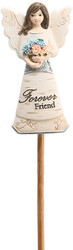 "Forever Friend by Elements - 3"" Angel Floral Pick"