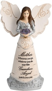 "Mother Guardian Angel by Elements - 6"" Guardian Angel"