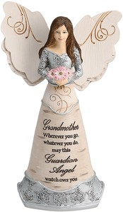 "Grandmother Guardian Angel by Elements - 6"" Guardian Angel"
