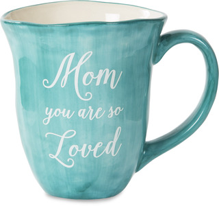 Mom by Emmaline - 16 oz Ceramic Mug