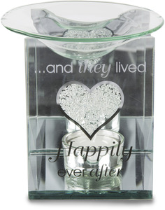 "Happily Ever After by Glorious Occasions - 5"" Tealight Warmer"