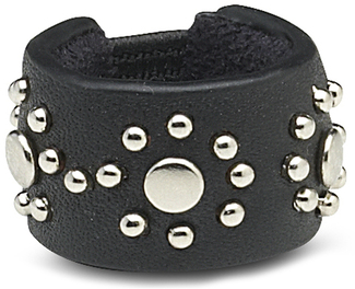 Black Stud by LAYLA - Leather Ring