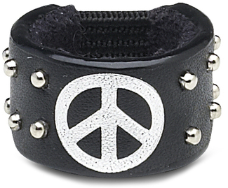 Peace by LAYLA - Leather Ring