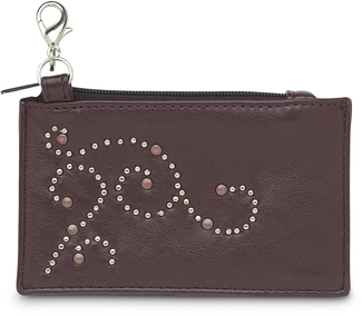 "Brown Stud by LAYLA - 4.5"" x 2.75"" Coin Purse"