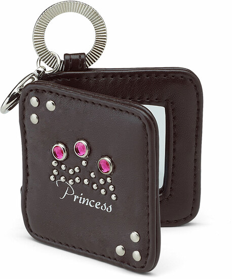 "Princess by LAYLA - Princess - 2"" Mirrored Key Chain"