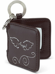"Angel by LAYLA - 2"" Mirrored Key Chain"