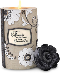 "Friend by Modeles - 6"" Cylinder Tea Light Holder"