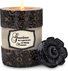 "Grandma by Modeles - 5"" Cylinder Tea Light Holder"