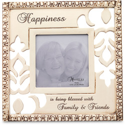 "Happiness by Modeles - 9.5"" x 9.5"" Photo Frame"