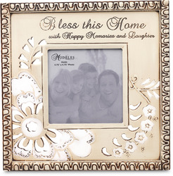 "Home by Modeles - 9.5"" x 9.5"" Photo Frame"