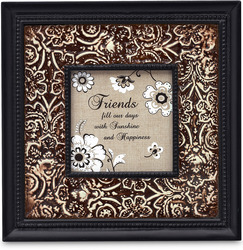 "Friends by Modeles - 7"" x 7"" Plaque/Frame"