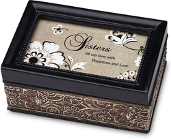 "Sister by Modeles - 4"" x 6"" Music Box"