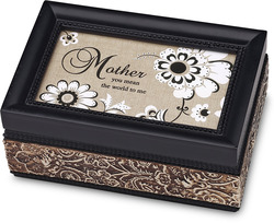"Mother by Modeles - 4"" x 6"" Music Box"