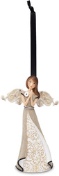 "Prayer by Modeles - 4.5"" Angel Praying Ornament"