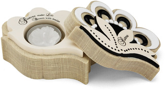 "Sister by Modeles - 4.5"" x 2"" Candle Holder"