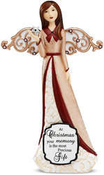 "Sympathy by Modeles Holiday - 7.5"" Angel Holding Star"
