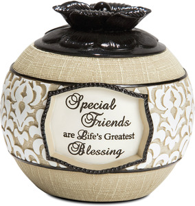 "Special Friend by Modeles - 3"" Round Candle Holder"