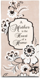 "Mother by Modeles - 7"" x 3.5"" Canvas Plaque"