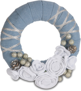 "Winter Charm by Signs of Happiness - 6"" Wreath"