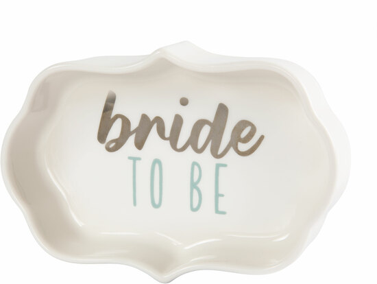"Bride by Best Kept Trinkets - Bride - 4"" Trinket Dish"