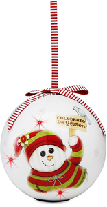 Celebrate the Season by The Sockings - 100mm Blinking Ornament