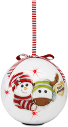 Best Friend by The Sockings - 100mm Blinking Ornament