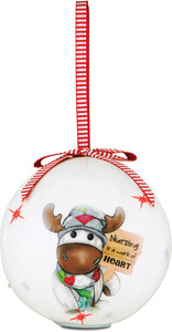 Nurse by The Sockings - 100mm Blinking Ornament