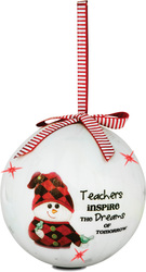 Teacher by The Sockings - 100mm Blinking Ornament