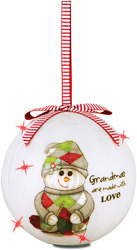 Grandma by The Sockings - 100mm Blinking Ornament
