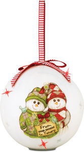 From Our Home to Yours by The Sockings - 100mm Blinking Ornament
