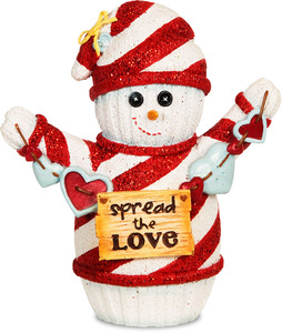"Spread the Love by The Sockings - 5"" Snowman"