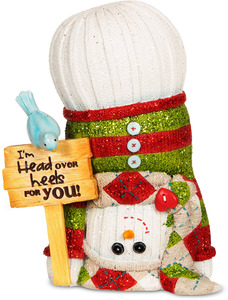 "Head over Heels by The Sockings - 5"" Upside Down Snowman"