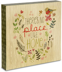 "No Place Like Home by Star of Wonder - 10"" x 10"" Plaque"