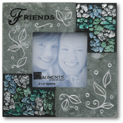"Friends by Fragments - 5.5"" Slate Photo Frame"