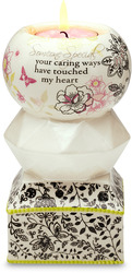 "Someone Special by UpWords - 5.5"" Tea Light Holder"