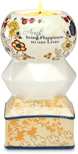 "Aunt by UpWords - 5.5"" Tea Light Holder"