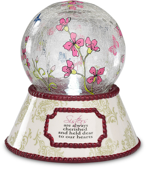 Sister by UpWords - UpWords is a collection of high quality crackled glass items including candle trays, display dishes, picture frames and more. These items will compliment your decorative needs or gift needs. Designed by Pavilion Gift Company.
